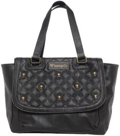 LOUNGEFLY BLACK QUILTED SKULL STUDS BAG   Grab this easy to carry Skull Stud Shoulder Bag from Loungefly! This roomy bag features a front flap pocket, inner zipper pocket, additional small inner pockets, and has a zip top closure to secure your goods. $60.00 #loungefly #purse #skulls