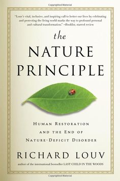 Richard Louv. Great book on the Nature deficit hitting our children.