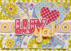lizzie griffindear lizzi, griffin card, anna griffinlov, ideasanna griffin, paper crafts, anna griffindear