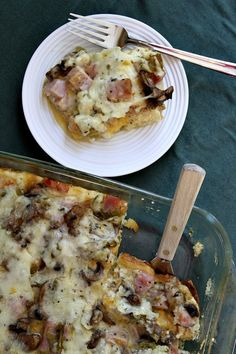 Make this overnight Ham & Cheese Breakfast Casserole with our #GlutenFree bread!