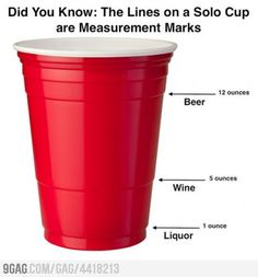 Did you know: the lines on a Solo up are measurement marks. [Well, I did NOT know that!]