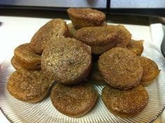 Flax Meal Cinnamon Muffins - South Beach from Food.com:   This is a good way to introduce flaxmeal into your diet. These muffins are also Phase II appropriate for the South Beach Diet, just be sure to count this toward your daily nut/seed allowance. Believe me, when you have been craving bread, these muffins taste like heaven!