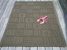 Rowan Mystery Afghan 2014 in Pure Wool Worsted -- free pattern -- knit by Dayana Knits.  On Ravelry: http://www.ravelry.com/projects/dayana/pure-wool-worsted-mystery-afghan-kal