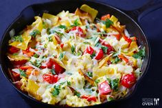 Gimme Some Oven | Migas (Tex-Mex Style) | http://www.gimmesomeoven.com