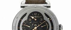 Bell & Ross WW2 Military Tourbillon Edición limitada de 20 piezas, recuerda los primeros relojes de aviador con tecnología avanzada y cuatro complicaciones.
