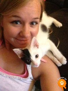 """Runner Up. Ophelia, adopted from Butte Humane Society – Chico, CA: """"Ophelia is a pirate on my shoulder!"""""""