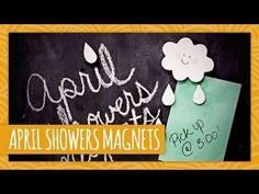 DIY April Showers Magnets - HGTV Handmade