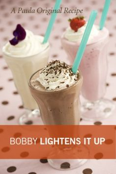 Bobby's Lighter Vanilla Milkshake