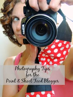 Photography Tips for the Point & Shoot Food Blogger via thefrugalfoodiemama.com #foodphotography #bloggertips