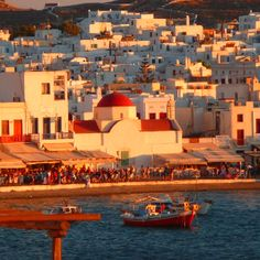 Sunset @ Mykonos, Greece