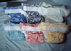 FOR SALE: EUC BumGenius Pocket Diaper Lot- Aplix - Artist Series | Cloth Diaper Trader