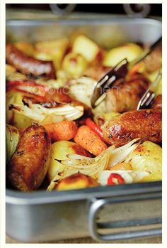 Lazy Sunday Casserole.  Making this for dinner tonight, can't remember if I already pinned!