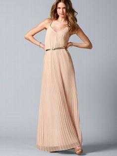 NEW!  Knife-pleat Maxi Dress #VictoriasSecret http://www.victoriassecret.com/clothing/maxi-dress/knife-pleat-maxi-dress?ProductID=93847=OLS?cm_mmc=pinterest-_-product-_-x-_-x