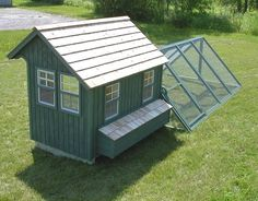 Green Chicken Coops