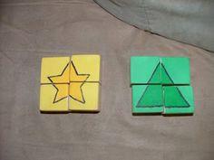 Puzzles y juegos con las pekes