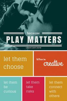 5 ways to support Play Based Learning because #playmatters via Lessons Learnt Journal