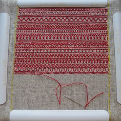 Redwork embroidery sampler | Flickr - Photo Sharing!