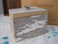 T R E A S U R E wood box / reclaimed wood keepsake by FORTRESSco
