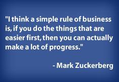 business - Mark Zuckerberg
