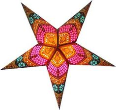 Hometown Evolution: (S245) Honeycomb Star (Yellow), Paper Star Lights