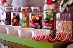 Candy for a Gingerbread House Party