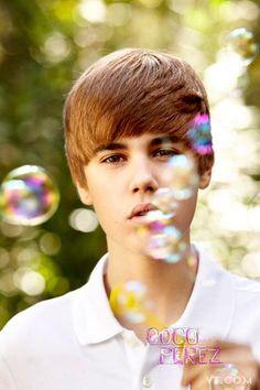 Bieber in his haircut