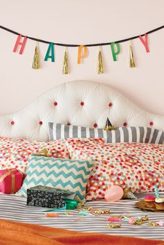 Bring the party into any room to make every day a celebration!