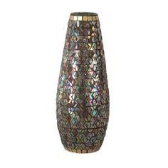 """Dale Tiffany Peacock Grande Vase,"" via Wayfair"