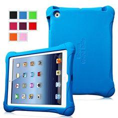 $16 Fintie iPad 2/3/4 Kiddie Case - Ultra Light Weight Shock Proof Kids Friendly Cover for Apple iPad 4th Generation with Retina Display, the New iPad 3 & iPad 2, Blue Fintie http://www.amazon.com/dp/B00N1LP1F4/ref=cm_sw_r_pi_dp_47Roub1SX2RRV
