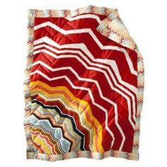 Missoni for Target crib blanket