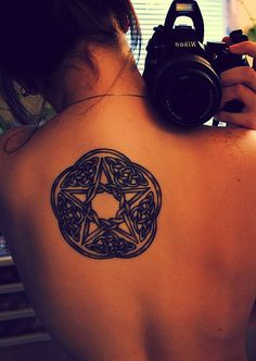 wicca tattoos - Google Search http://pinterest.com/nfordzho/endless-pain-but-tattoo-is-eternally-mark/