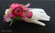 pink flowers, prom flower