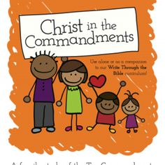 Christ in the Commandments Bible Study ~Review and Promo code!