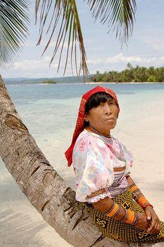 Kuna woman - Panama