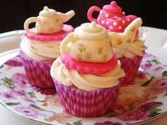 Beautiful cupcakes for afternoon tea!