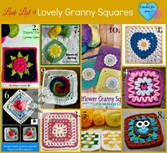 Free Lovely Granny Squares