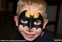 Superhero Face Painting Ideas For Boys