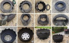 The Tire Flower Power...How To!