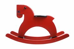 roll hors, hors design, toy, color red, rock hors, rocking horses