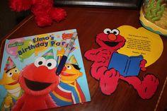 Elmo's birthday party book