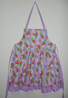 I could write a book on aprons and memories.