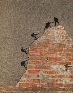climbing walls #streetart
