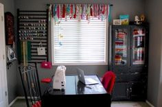 Tips for organizing your craft space, from a professional crafter.