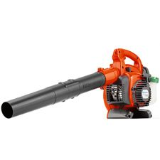 """The Husqvarna 125B gas-powered leaf blower is built to fit the diverse needs of homeowners and has a bevy of premium features to make operation easier. The blowing tube is fully adjustable, allowing you to optimize its length for different jobs around the yard. Also, the stop switch automatically returns to the """"on"""" position, which makes starting the blower easy.    The Husqvarna 125B's controls are all contained in an easy-to-access panel."""