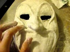 How to Make a Mask (Plaster Cloth Method) Part 3