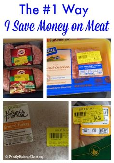 The #1 Way I Save Money on Meat