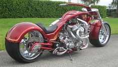 This twin V-Twin, twin turbo custom motorcycle debuted at Biketoberfest last fall and took Best in Class at the Rat's Hole Custom Bike Show. It was built by A1 Cycles of Wellington, Florida and is ...
