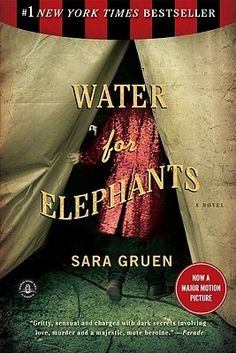 Water for Elephants - read it on a sick day.  Loved it.