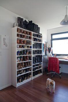 office rooms, echo park, tiny apartments, shoe organization, closet, shoe storage, organization ideas, desk chairs, home offices