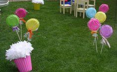 DIY lollipop decorations...